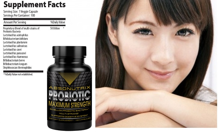 Absonutrix Probiotic 100 capsules